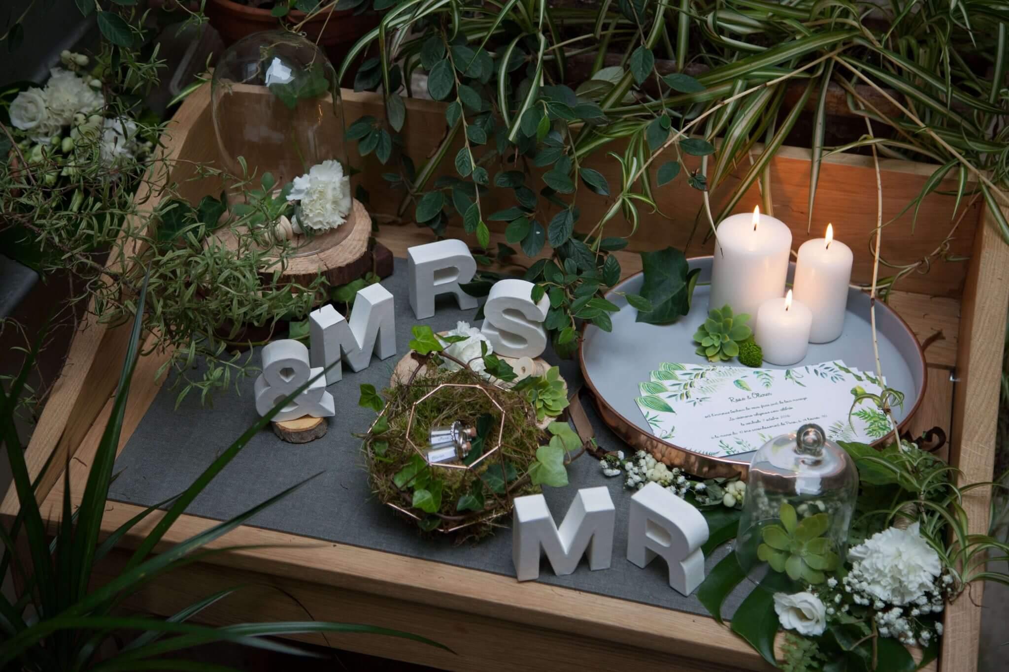 mariage botanique