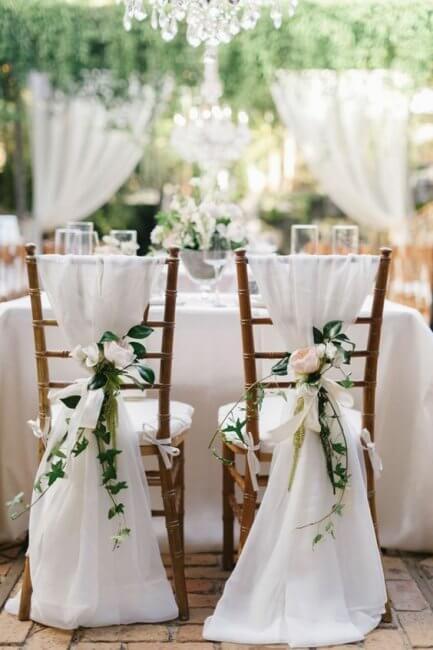 chaises des mariés gwend'or
